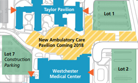 Changes to Parking at Westchester Medical Center's Valhalla Campus